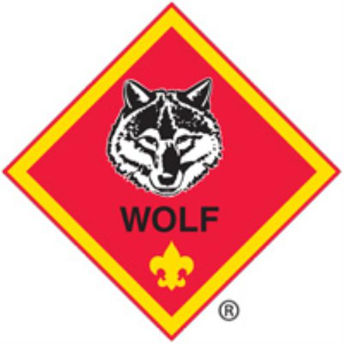 Pack 607 Wolf Badge